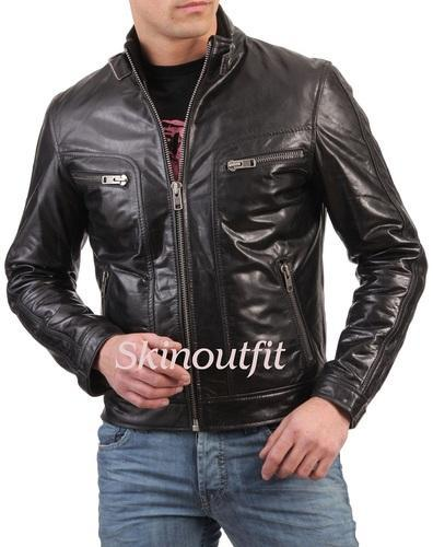 8b3534398 Mens Full Sleves Jackets - Winter Leather Jacket Exporter from Mumbai
