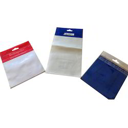 White, Transparent Printed Poly Bags