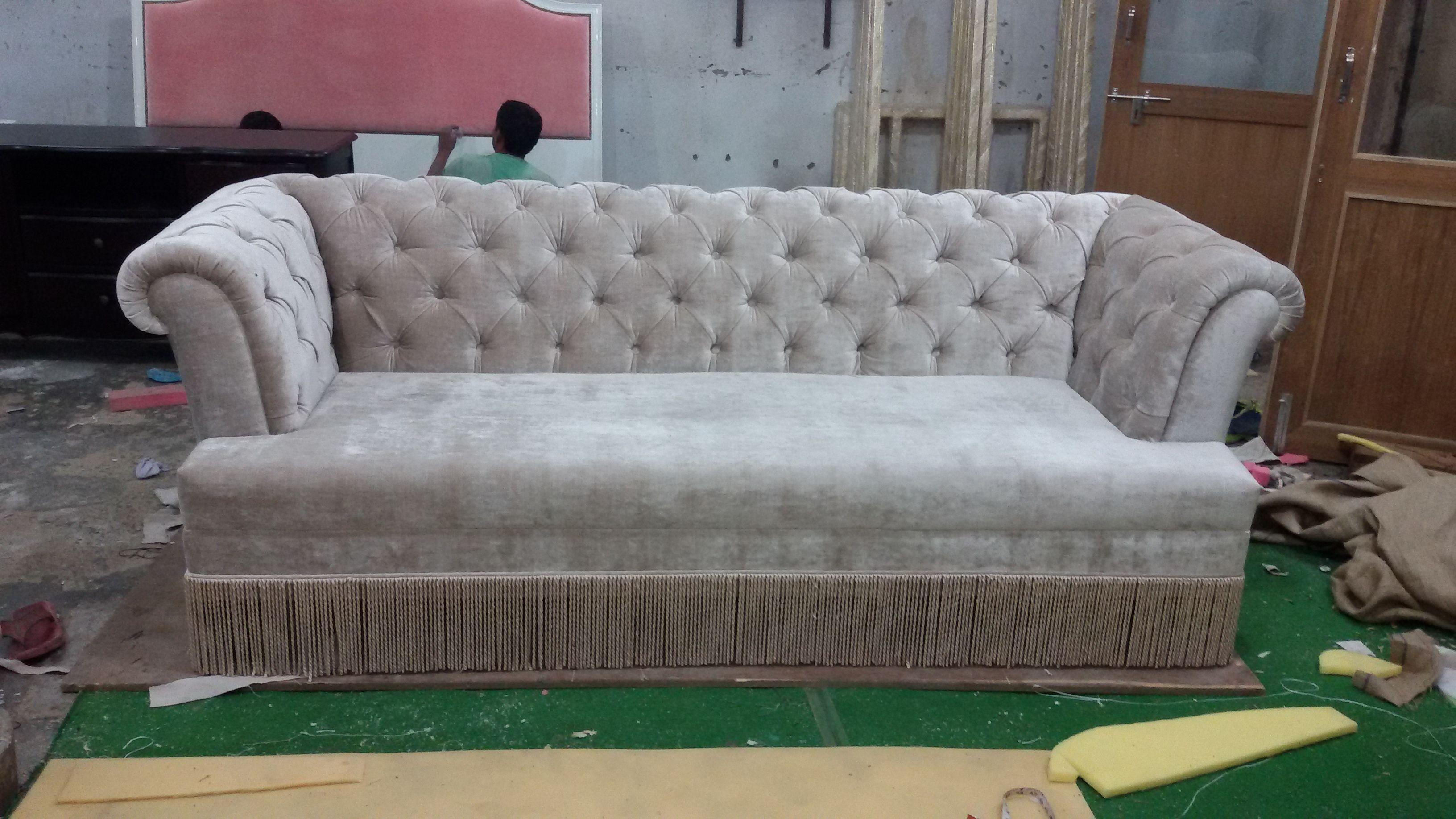 Quilting Sofa At Rs 45000 फर न चर स फ Wood Metal