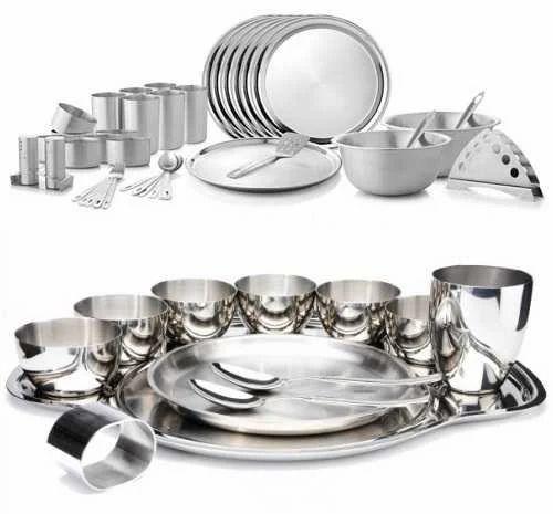 Stainless Steel Tableware  sc 1 st  IndiaMART & Stainless Steel Tableware Stainless Steel Utensils u0026 Cookware ...