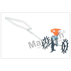 Manually Hand Operated Seed Drill