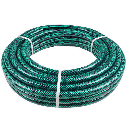 Green Braided Hose Pipe