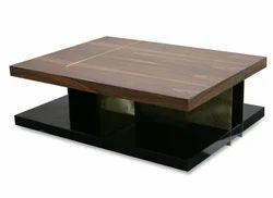 Wooden Custom Center Table, Warranty: 1 Year