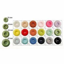 Coloured Polyester Button