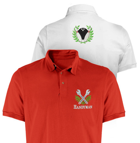 caabd3af Embroidery T Shirt Printing Service in Chandigarh, Jupiter Graphics ...