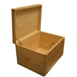 Industrial Wooden Storage Boxes
