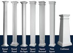 Home front pillar design