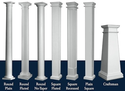 Cement Pillar Design 500x500 House Pillar Designs On Home Pillar Design Photos