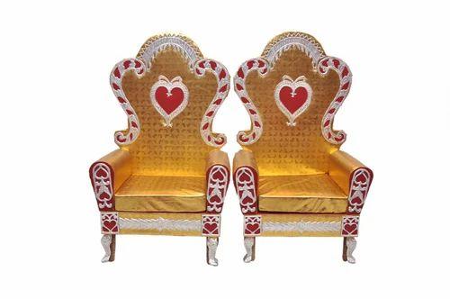 Wedding chairs adhunik dyeing tent works manufacturer in wedding chairs junglespirit Choice Image