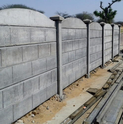 Compound Boundary Wall Precast Prestressed Concrete Wall