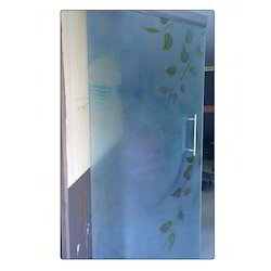Printed Frosted Vinyl Glass