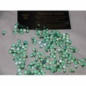 Green Zircon Tear Cut Shape