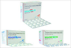 Divalproex Sodium Extended Relase Tablets
