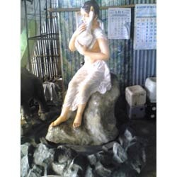 Women Fountains Statue