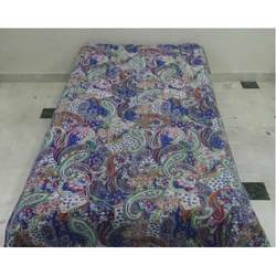 Cotton Kantha Paisley Bed Cover