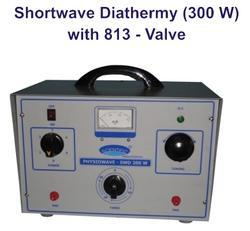 Shortwave Diathermy (300 W) with 813 - Valve