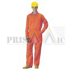 Unisex Orange Fire Retardant Coverall