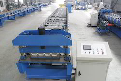 Decking Profile Roofing Sheet Making Machine