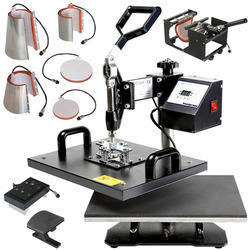 Multifunctional 8 in 1 Heat Press Machine