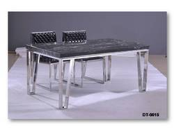Stainless Steel Dining Table With Set DT 015 Part 36