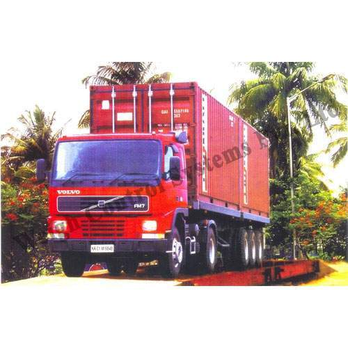 Weighment Of Trucks 10 T To 100 T Truck Weighbridge