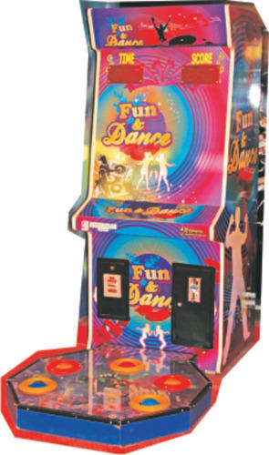 Multicolor Fun N Dance Redemption Game