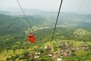 Image result for Raigad ropeway
