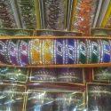 Welvet Color Stone Bangles Set