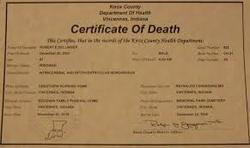 Birthdeath certificate birth certificate attestation service birthdeath certificate yadclub Image collections