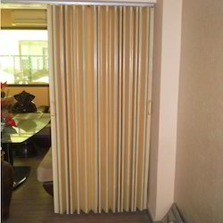PVC Plain Folding  accordian Door
