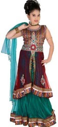 Kids Choli Sharara