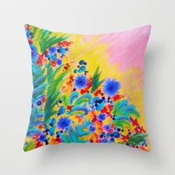 Hand Painted Pillow Covers
