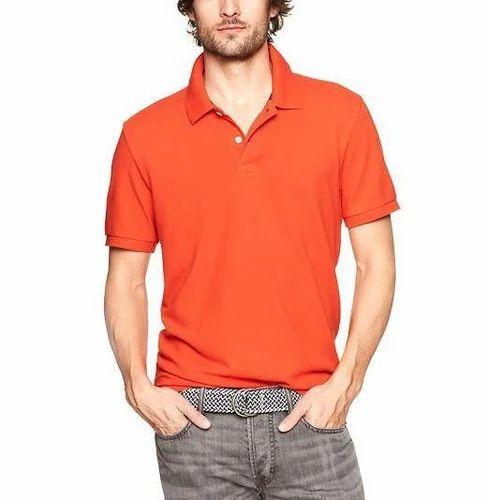 fc25f910406 100% Cotton Men''s Plain Pique Polo Shirt, Rs 230 /piece | ID ...