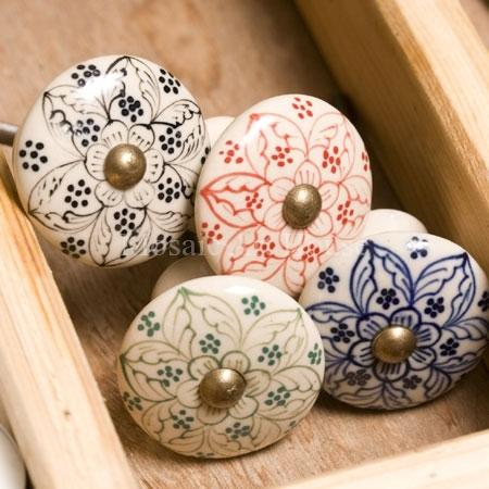 Best Of Hand Painted Ceramic Cabinet Knobs