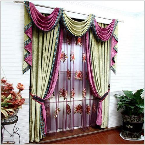 Decorative Curtain Designer Curtain Manufacturer From