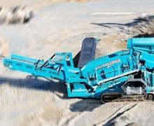 Powerscreen Screening Equipments - Chieftain Screen Range