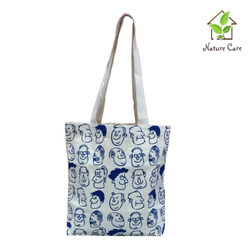 Smart Print Cotton Canvas Bag
