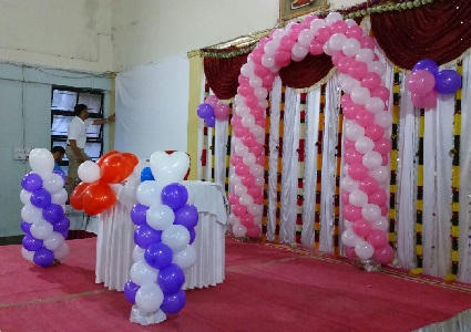 Balloon Decorations For Party in Katraj Pune ID 9344890248