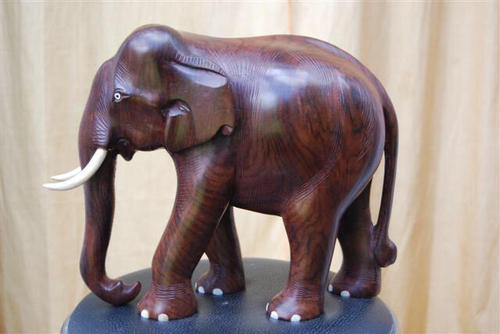 Rosewood Elephant Handicrafts At Rs 200 Piece Thiruvananthapuram