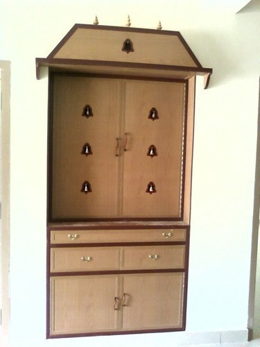 Pooja Room Furniture Pvc Pooja Door Manufacturer From