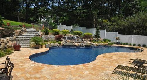 Lagoon Style Swimming Pool View Specifications Details Of