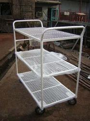 Sided Shelf Trolley