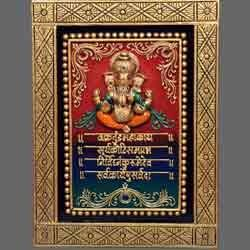 Maha Ganesh Mantra Mural