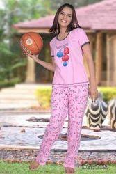 Girls Printed Pajamas
