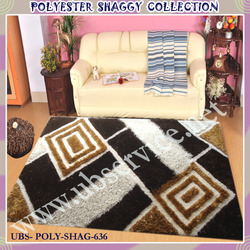 Tufted Polyester Carpet Shaggy