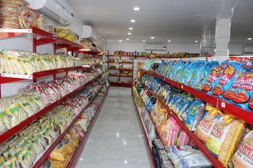 Stainless Steel Super Market Display Rack, for Supermarket