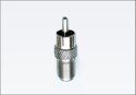 Rca Male To F Female Connector
