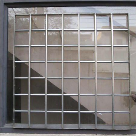 Stainless Steel Window Grills स्टेनलेस स्टील विंडो