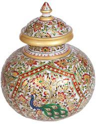 Marble Gold Painting Pottery