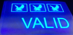Valid Eagle UV Holographic Overlay for Cards